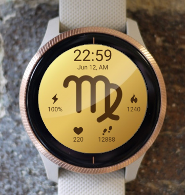 Garmin Watch Face - Virgo 2