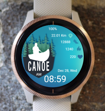 Garmin Watch Face - Canone