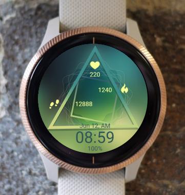 Garmin Watch Face - Triangle
