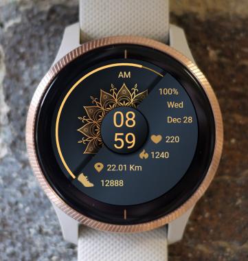 Garmin Watch Face - Mandala T9