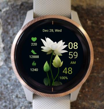 Garmin Watch Face - Lotus Five