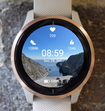 Garmin Watch Face - Brufjell