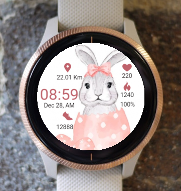 Garmin Watch Face - Easter Eggs