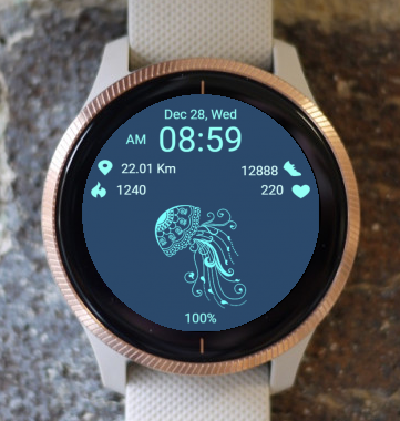 Garmin Watch Face - Medusa