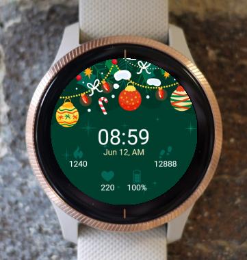 Garmin Watch Face - Mary Christmas G