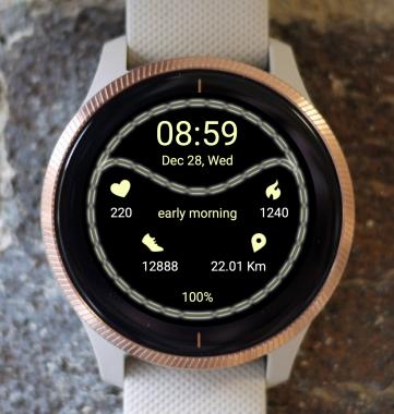 Garmin Watch Face - Sport Halo