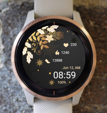 Garmin Watch Face - Merry Christmas