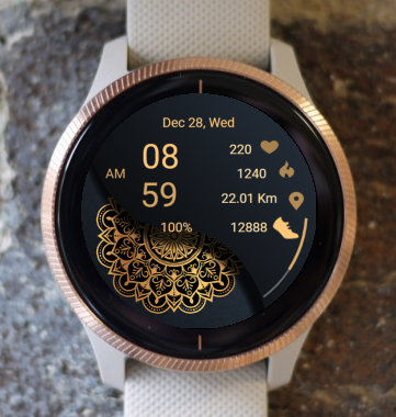 Garmin Watch Face - Mandala G13