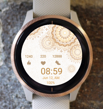 Garmin Watch Face - Mandala C17