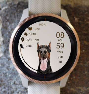 Garmin Watch Face - Dog 03