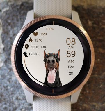 Garmin Watch Face - Dog 03