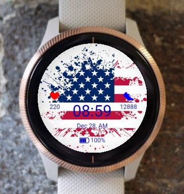 Garmin Watch Face - US Independence