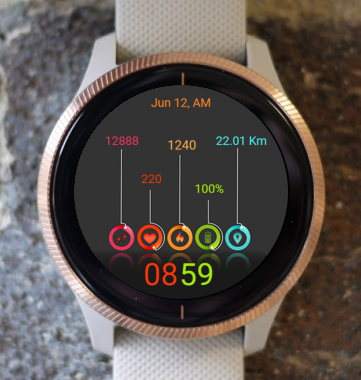 Garmin Watch Face - Color Watch