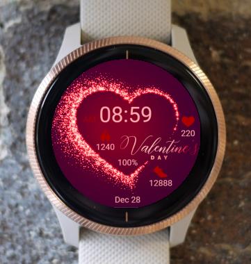 Garmin Watch Face - Valentines Day