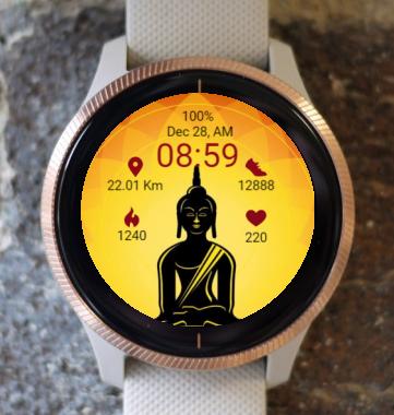 Garmin Watch Face - RR 2 Meditation