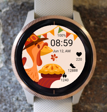 Garmin Watch Face - Thanksgiving