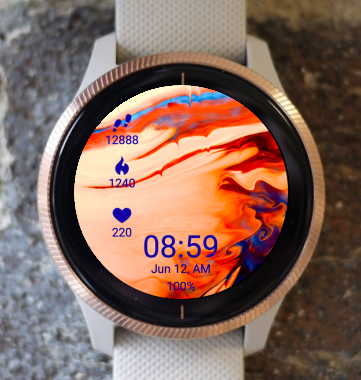 Garmin Watch Face - Flow