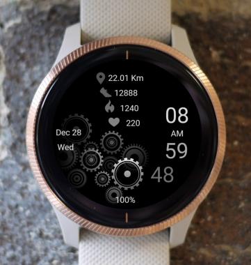 Garmin Watch Face - Machinery