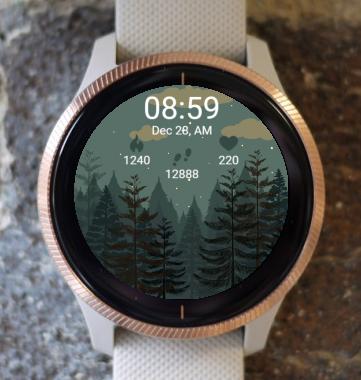 Garmin Watch Face - Tree G