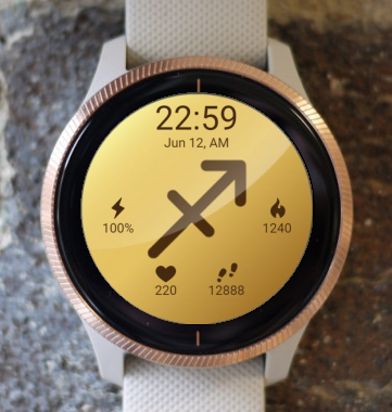 Garmin Watch Face - Sagittarius 2