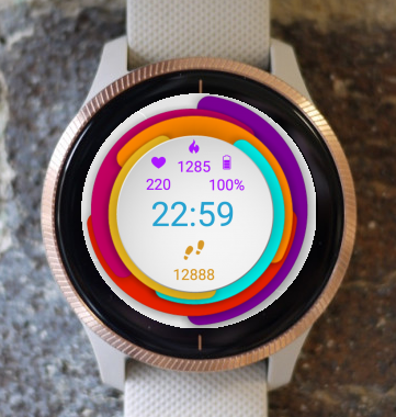 Garmin Watch Face - Circles
