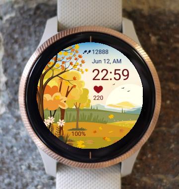 Garmin Watch Face - Autumn Magic 23
