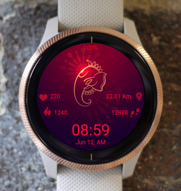 Garmin Watch Face - Ganesh