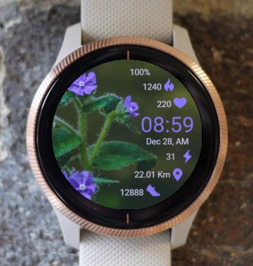 Garmin Watch Face - Forest Flower