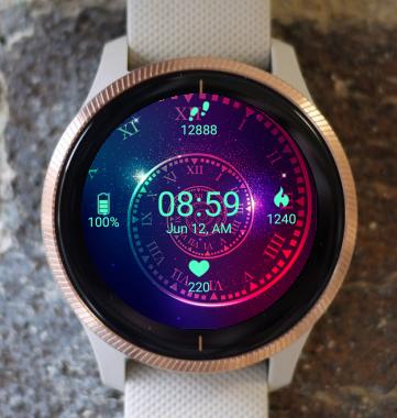 Garmin Watch Face - Fibonacci