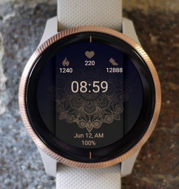 Garmin Watch Face - Mandala GD