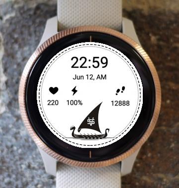 Garmin Watch Face - Viking