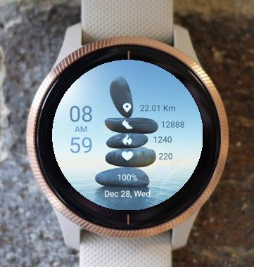 Garmin Watch Face - Balance