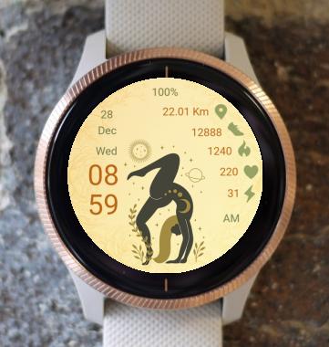 Garmin Watch Face - Yoga 06