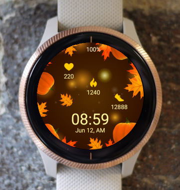 Garmin Watch Face - Thanksgiving 02