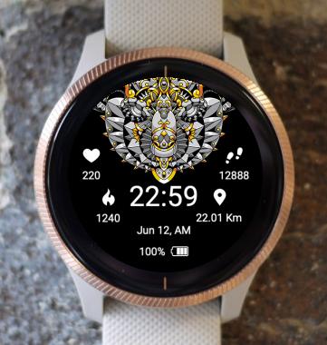 Garmin Watch Face - Mandala A1