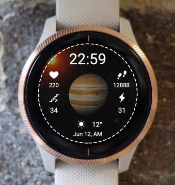 Garmin Watch Face - Planet