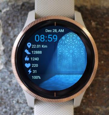 Garmin Watch Face - Light Mandala