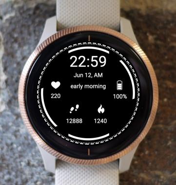 Garmin Watch Face - Minimal
