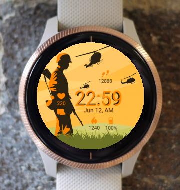 Garmin Watch Face - Army