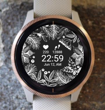 Garmin Watch Face - Nature Flower G