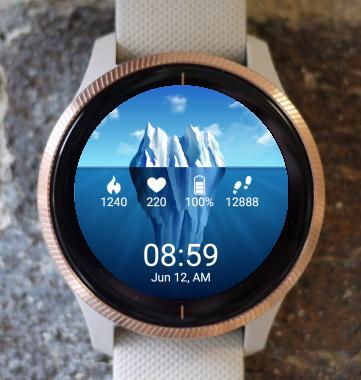 Garmin Watch Face - Ice