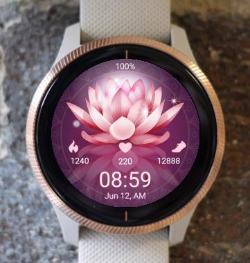 Garmin Watch Face - Lotus Two