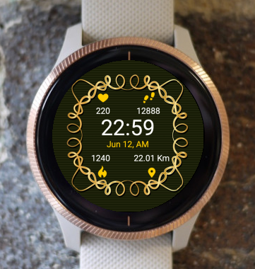 Garmin Watch Face - Deco