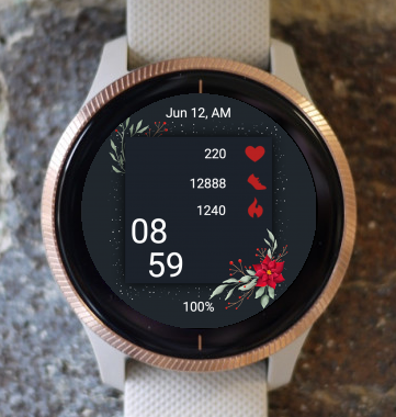 Garmin Watch Face - Christmas FW