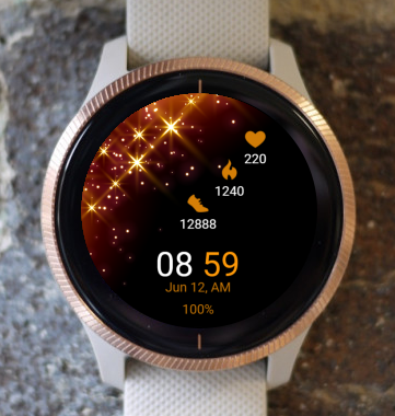 Garmin Watch Face - Starline