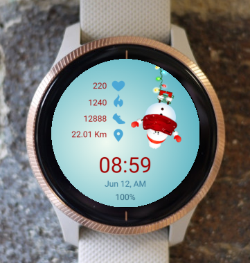 Garmin Watch Face - Awooche SM