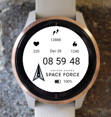 Garmin Watch Face - Space Force