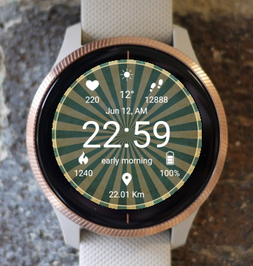 Garmin Watch Face - Center