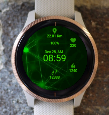 Garmin Watch Face - In Infinity