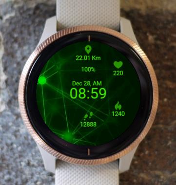 Garmin Watch Face - In Infinity